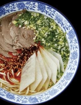 Lanzhou Handmade Beef Noodle Soup 兰州牛肉面